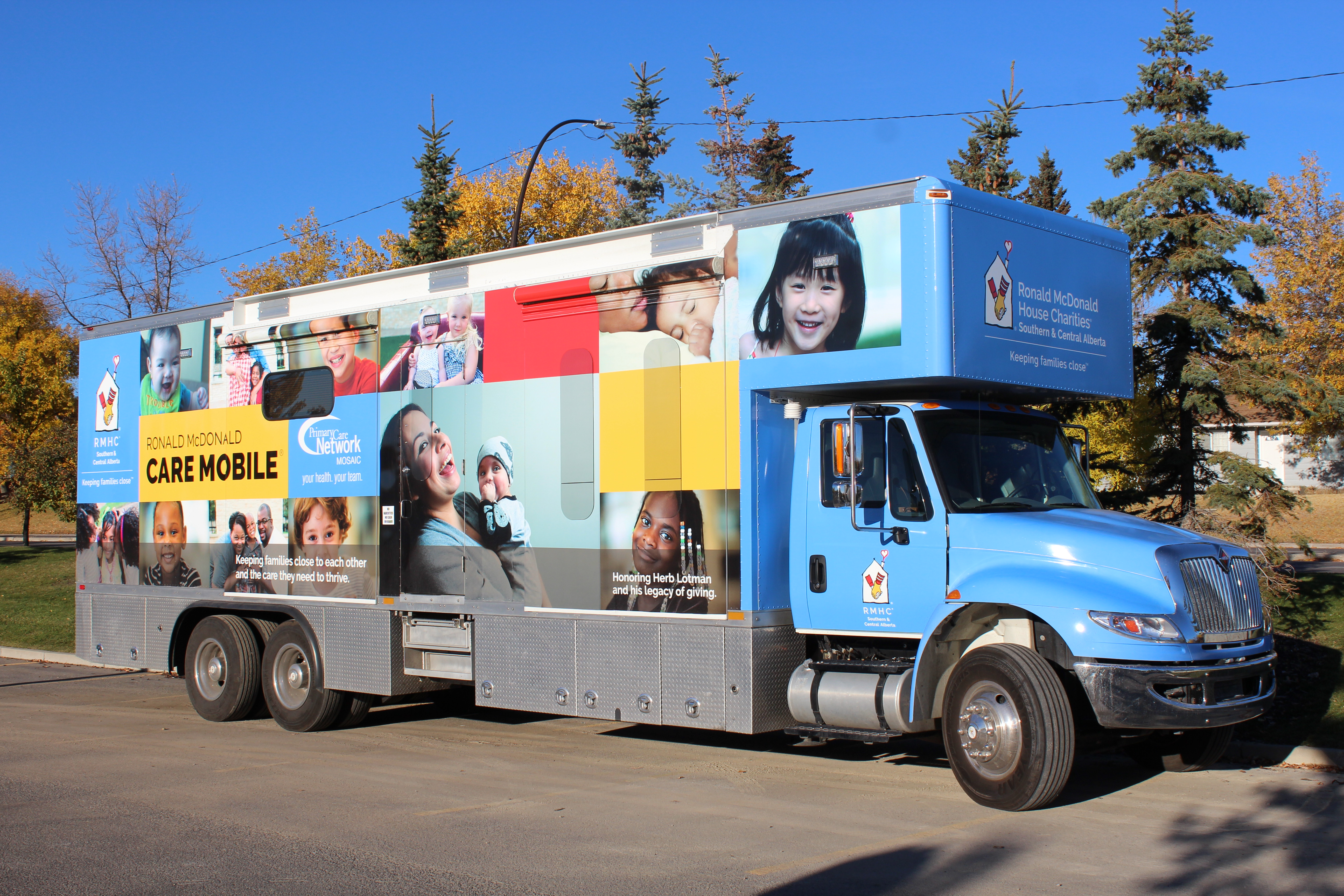 Clinique mobile (OMRM de l'Alberta)